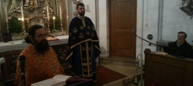 Посета Игумана манастира Крупе богослужбеном месту у Фрајсингу